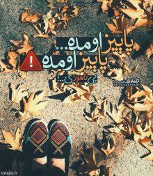 عکس نوشته غمگین آهای خبردار پاییز اومده پی نامردی